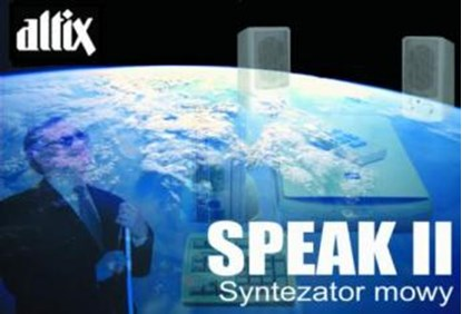 Изображение Speak II, syntezator mowy