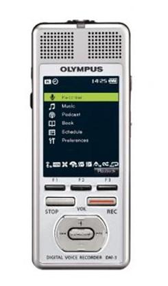 Изображение Olympus DM-3, dyktafon