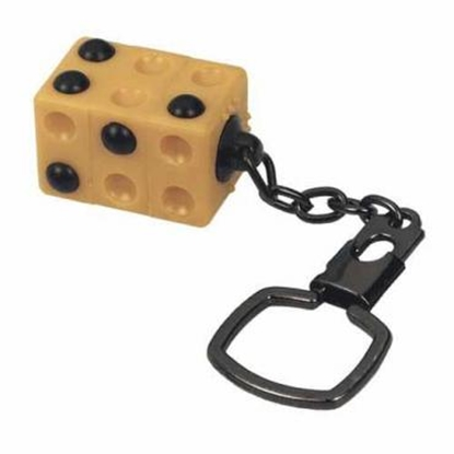 Picture of Braille cube keyring