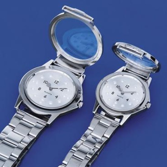 Picture of Braille watch with metal bracelet (CW142 and CW143)