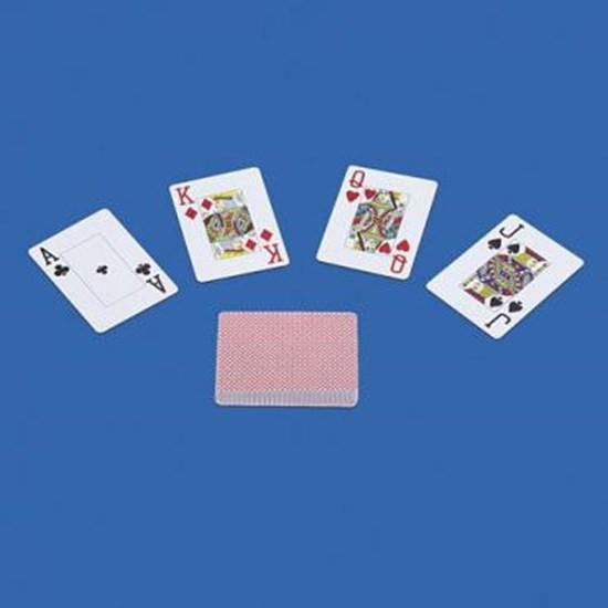 Изображение  Увеличенные листы игральныe