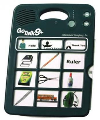 Obrazek Go Talk 9+ – komunikator, urządzenie do komunikacji alternatywnej