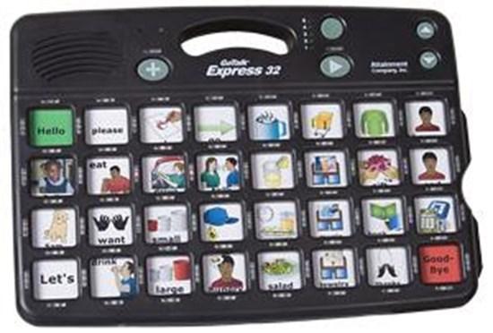 Obrazek Go Talk Express 32 – komunikator, urządzenie do komunikacji alternatywnej
