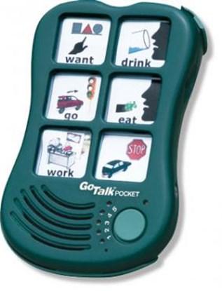 Bild von Go Talk Pocket – komunikator, urządzenie do komunikacji alternatywnej