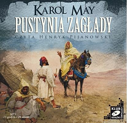 """Obrazek """"Pustynia zagłady"""" Karol May"""