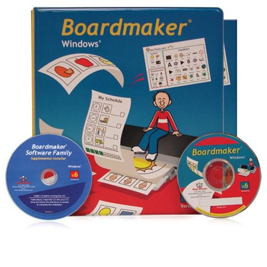 Picture of Boardmaker - oprogramowanie do komunikacji alternatywnej