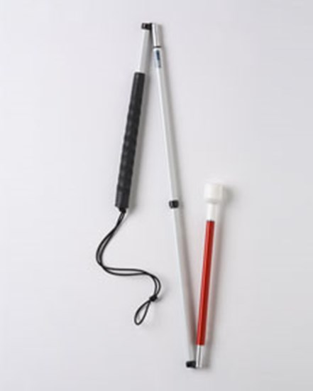Picture of  Folding fibreglass walking stick