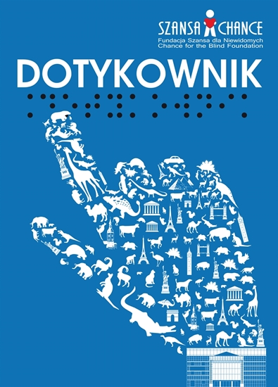 Obrazek Dotykownik - atlas wypukłej grafiki, zbiór rycin brajlowskich i transparentnych
