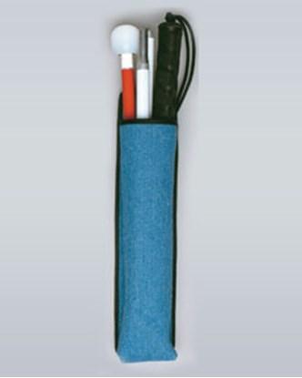 Изображение Pokrowiec na laskę wykonany z dżinsu