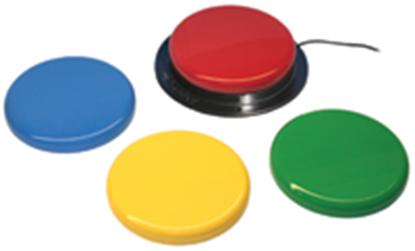 Obrazek Big Red, przewodowy przycisk do urządzeń elektrycznych i elektronicznych