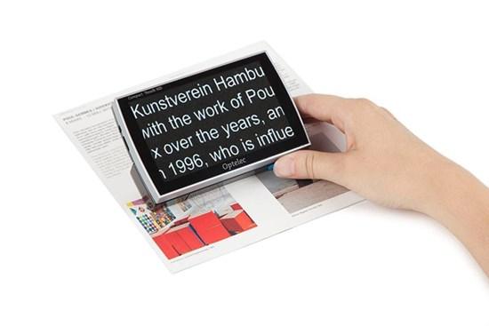 Obrazek Compact Touch HD – lupa elektroniczna
