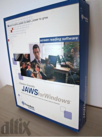 Изображение JAWS – program udźwiękawiający