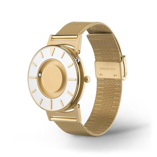 Bild von Bradley Mesh Gold - zegarek na rękę