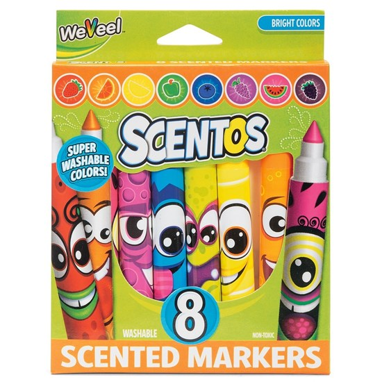Markery zapachowe Scentos - opakowanie