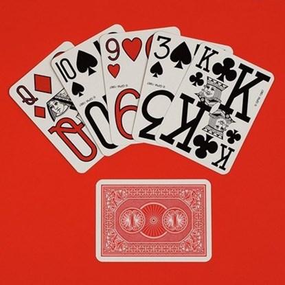Karty do gry Jumbo z bardzo dużymi oznaczeniami