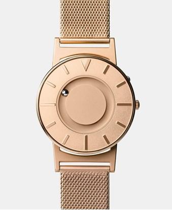 Изображение Bradley Mesh Rose Gold II – zegarek na rękę