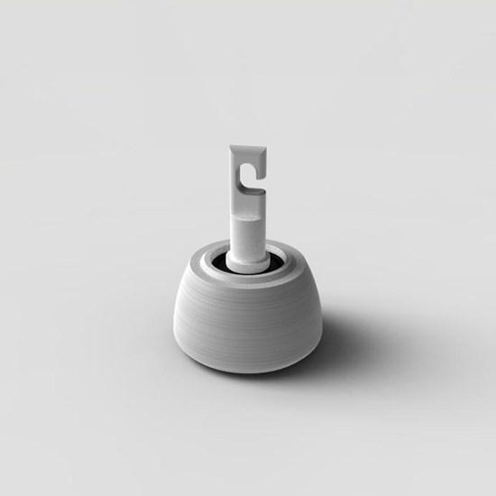 Снимка на Końcówka Flex do białej laski - polietylenowa, w kształcie dzwonka