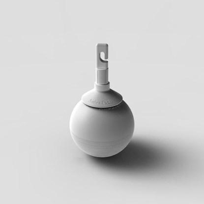 Изображение Rolling Ball – obrotowa, łożyskowana, utwardzana końcówka do białej laski
