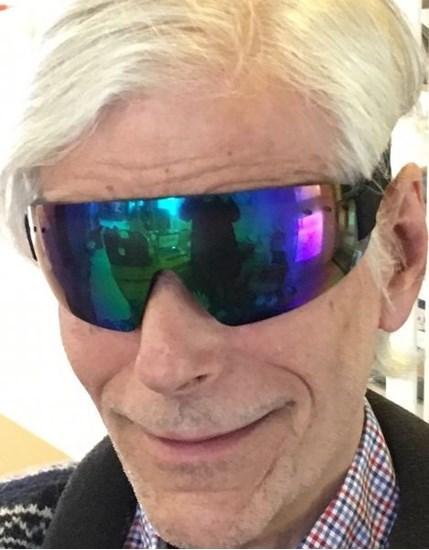 Obrazek Okulary sportowe dla osób niewidomych
