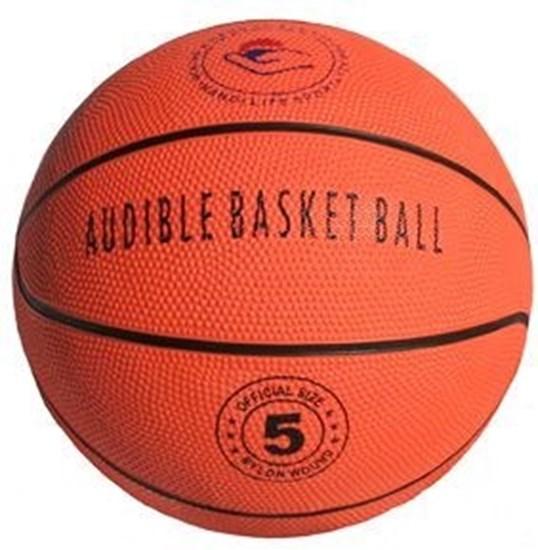 Obrazek Piłka do koszykówki z dzwonkami ( rozmiar 5)