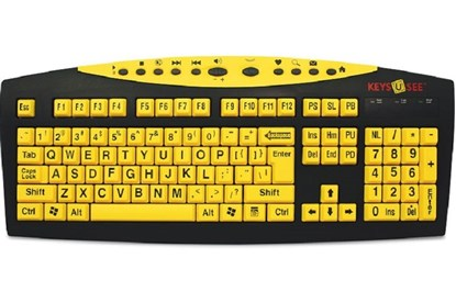 Bild von Keys-U-See - klawiatura specjalistyczna z dużymi klawiszami