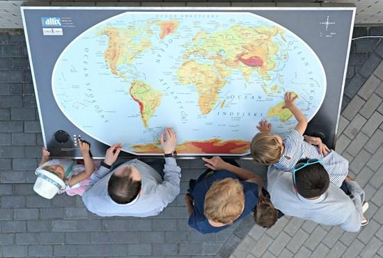 Obrazek Mapa świata