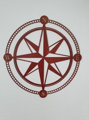 Bild von Obraz Róża Wiatrów 2