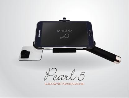 Bild von MIRAcle Pearl 5 - lupa elektroniczna z udźwiękowionym smartfonem Samsung