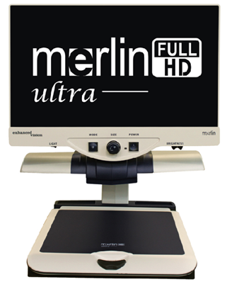 Obrazek Merlin Ultra Full HD – biurkowy powiększalnik wideo