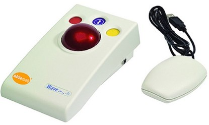 Picture of Wave Wireless Switch-Adapted Trackball – specjalistyczna mysz komputerowa
