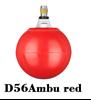 Obrotowa końcówka D56Ambu red