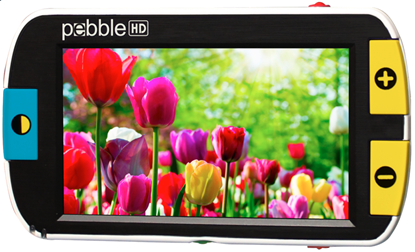 Obrazek Pebble HD - ręczna lupa elektroniczna 4,3 cala