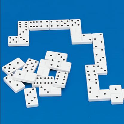 Obrazek Domino dotykowe RNIB – gra dla widzących i niewidomych graczy