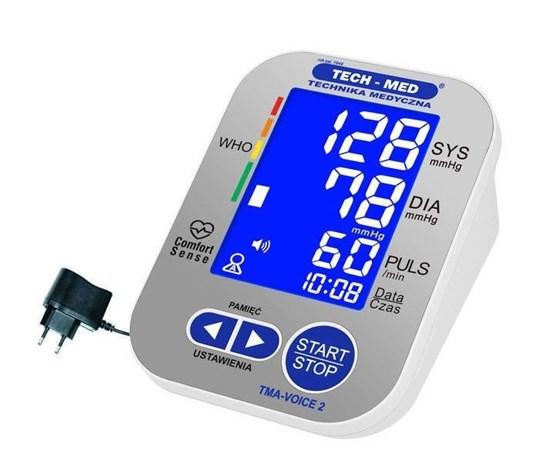 Изображение  TMA-VOICE 2 - automatyczny ciśnieniomierz naramienny z funkcją mowy