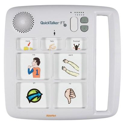Снимка на QuickTalker FT 7 – urządzenie do komunikacji alternatywnej