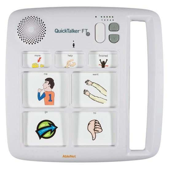 Obrazek QuickTalker FT 7 – urządzenie do komunikacji alternatywnej