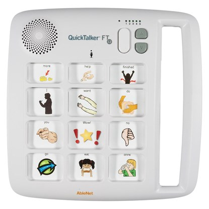 Снимка на QuickTalker FT 12 – urządzenie do komunikacji alternatywnej