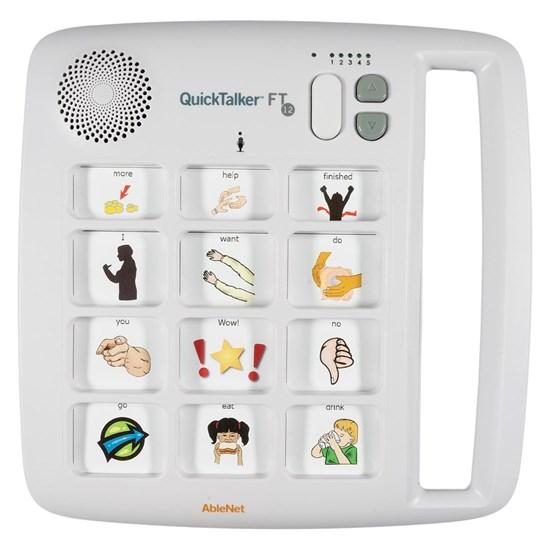 Obrazek QuickTalker FT 12 – urządzenie do komunikacji alternatywnej