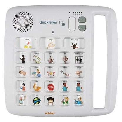 Снимка на QuickTalker FT 23 – urządzenie do komunikacji alternatywnej