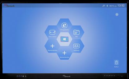 "Снимка на IDBoard 65"" Android 8.0 4K (RLT65A8) – monitor interaktywny"